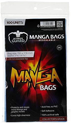 Êltimo Guardia UGD020011 - Manga Bags, Puede Volver a Cerrar, 100 Piezas