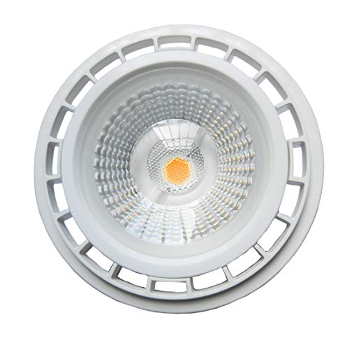 Akaiyal 12W AR111 GU10 LED Lampe COB ES111 Reflektorlampe Spot Leuchtmittel 220V Warmweiß 3000K 1200 Lumen 60 Grad als Ersatz für 75W Halogenbirne 1-Stück Nicht-Dimmbar MEHRWEG