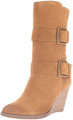 Very Volatile Women's Lars Western Boot Beige Size: 5.5 UK