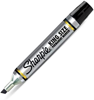 Sharpie King Size Permanent Marker, Black 1 ea (Pack of 12)