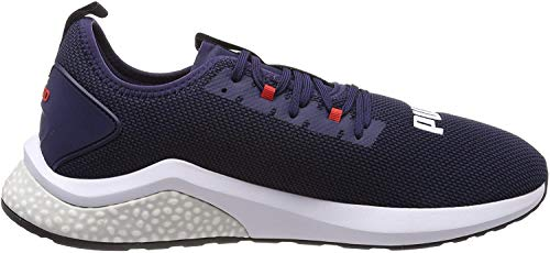 Puma Hybrid NX, Scarpe Running Uomo, Blu (Peacoat-High Risk Red White), 45 EU