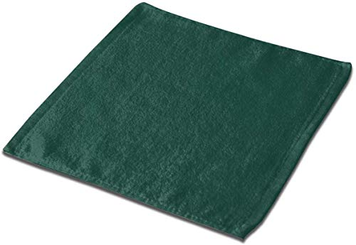 not applicable Mikrofaser quadratisches Tuch, Braunschweig Grün Solid Color Soft Skin-Frendly Sweat Handtuch Gesicht Handtuch Hand Handtuch-