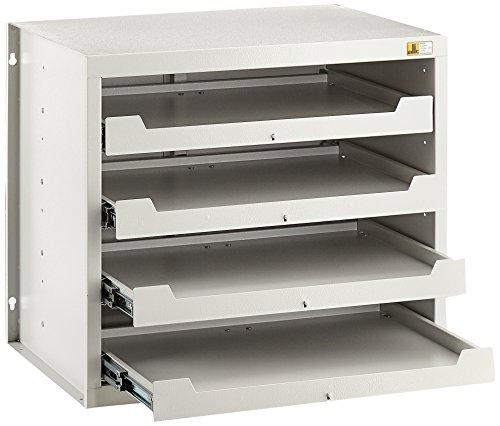 Allit 455805 Kofferschrank für Kleinteilekoffer