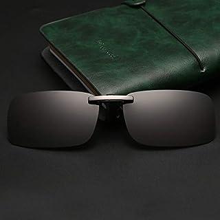 LKVNHP Nuevo Clip De Aluminio Gafas De Sol Hombres Mujeres Polarizado Conducción Antirreflejos Día Noche Fotochromic