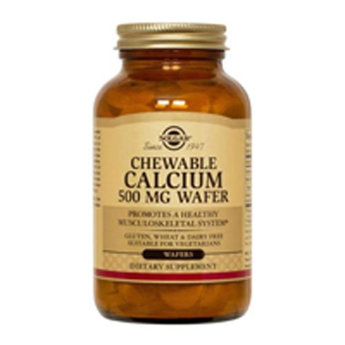 Chewable Calcium 500mg 120 Wafers 2-Pack