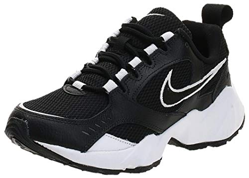 Nike Wmns Air Heights, Scarpe da Running Donna, Nero (Black/Black/White 001), 40 EU