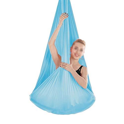 ZCXBHD Aerial Yoga hängmatta kit sensorisk gunga med bärande 200 kg inomhusterapi gunga för...