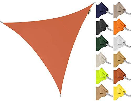 Plane Heavy Duty Waterproof 3 * 3 * 3m Dreieck Wasserdicht Garten Terrasse Sonnenschirm Segel Baldachin 96,5{96746cb9e4158be43c10dec8e3bbd05deab1c8ed267684bc7512d2c1dafea872} Anti-uv Abschirmung Tuch für Car Garden Roof wasserdichte Camouflage Zelt
