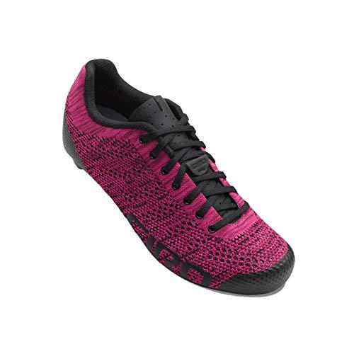 Giro Empire W E70 Knit Womens Road Cycling Shoe − 38, Berry/Bright Pink (2018)