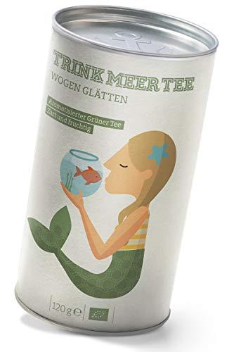 Wogen Glätten - ein aromatisierter Grüner Tee zart und fruchtig (120g)