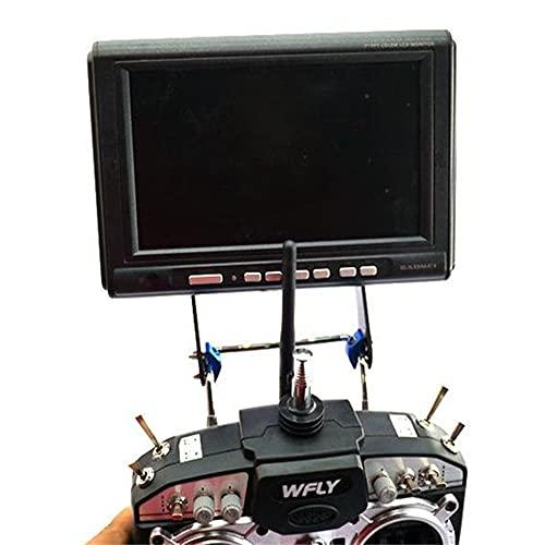 RC Model Aeroial FPV Monitor Montaje Soporte Monitor Monitor Universal para JR Futaba FS-I6S FRSKY FS-I6 Aleación de Aluminio FPV