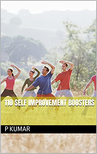 110 SELF IMPROVEMENT BOOSTERS (English Edition)