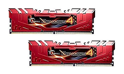 GSkill Ripjaws 4Serie F4–2800C16d-8grr DDR42800MHz 8GB KIT–rot
