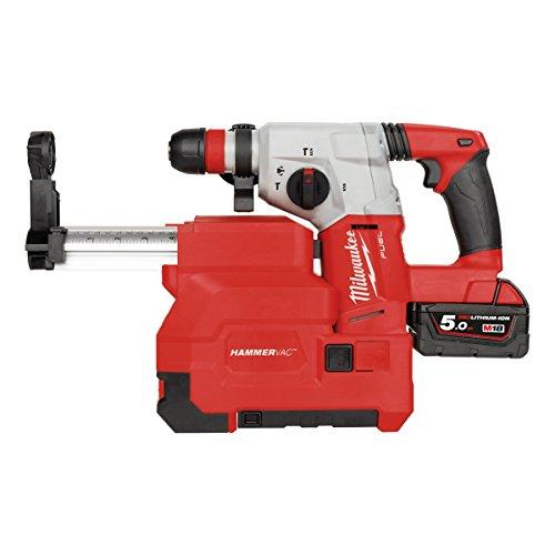 Milwaukee Akku-Bohrhammer 4933448185 SDS+ M18CHXDE-502C 2x 18V/5,0Ah Li-Ion, 2 W, 18 V