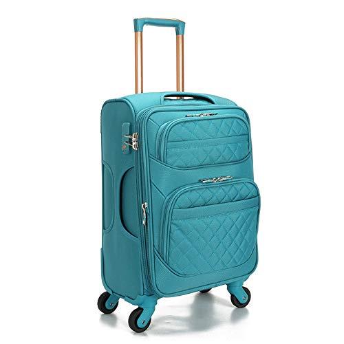 Ys-s Personalización de la tienda La nueva caja de la carretilla Oxford tela impermeable maleta de viaje maleta, maleta cuadro de contraseña portátil maleta maleta, resistente al agua, de alta gama ca