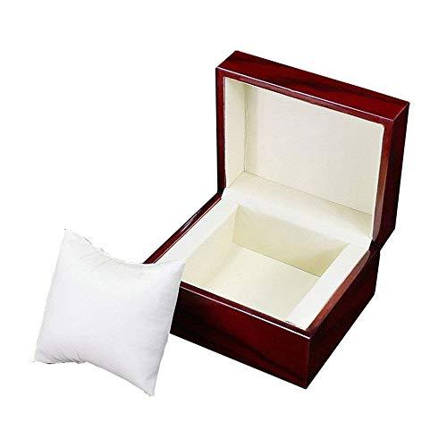 Gossip Boy Premium Glossy Uhrenbox Holz/Armband Pillow Box Uhrenbox Herren Große Geburtstag Geschenk Uhrenbox Schwarz Party Geschenk