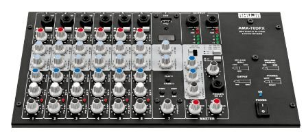 Ahuja Mixer AMX-70DFX with built-in USB option(7 channel mixer)