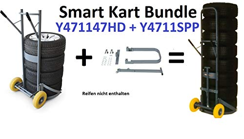 Winntec Smart Cart Y471147HD Reifenkarre Smart Kit Y411SPP Bundle