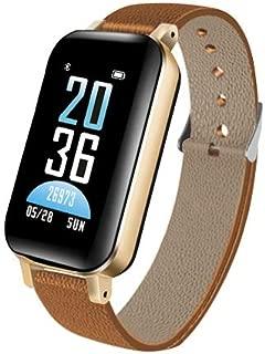 Xiangjin Smartwatch for Kids,T89 2 in 1 Smart Wristband Bluetooth iOS Android Fitness Smart Watch for Men Women