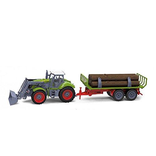 RC Auto kaufen Traktor Bild 2: Riesenr XXL RC ferngesteuerter Traktor mit Anhänger Trecker*