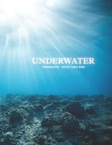 Libro de mesa de centro de fotografía subacuática: hermosas imágenes para relajarte y meditación, para los amantes del mar y...
