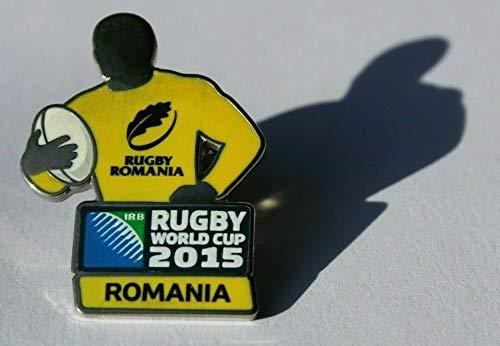 RWC2015 Anstecknadel – Rumänien – Rugby Weltmeisterschaft 2015