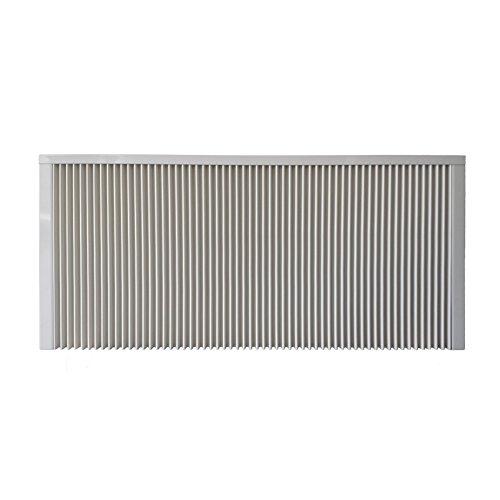 Elektroheizung - Radiator - 2000 Watt - im Set - inkl. Wandmontageset und 1,8m Anschlusskabel- Ohne Thermostat - mit Schamottespeicherkern - Maße: (LxHxT) 990x630x80 - Lagerware