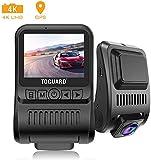 TOGUARD Dash Cam 4K 3840x2160P GPS Dashboard Dash Camera for Cars 2 inch
