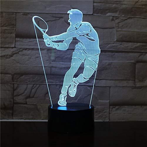 Tischlampe Netto Spieler Figur Nachtlicht Büro zu Hause Raumdekoration Nachtlicht Kind Kind Geburtstagsgeschenk