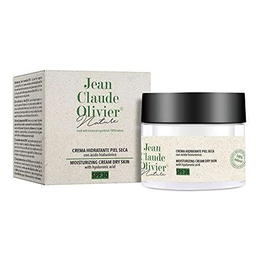 Jean Claude Olivier - Skin Nature | Creme für trockene Haut - Gesichtscreme mit Sonnenschutz, trockene Haut, LSF 30-50 ml