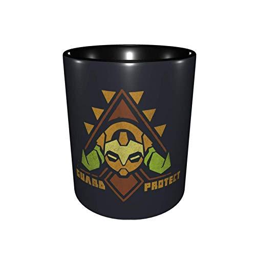 Overwatch To Guard Protect Taza de moda de cerámica de dos colores Taza de café Taza de té Oficina Estudiante 330ml
