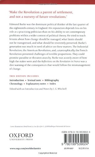 Reflections on the Revolution in France (Oxford World's Classics)