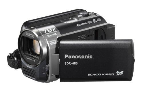 Panasonic SDR-H85 - Videocámara (0.8 MP, CCD, 1/0.315 mm (1/8'), 70 x, 1.48-104 mm, 37.4-2625 mm) Negro