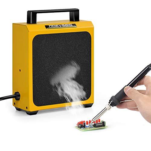 Soldadura Absorbente de humo Extractor Extractor de humos Absorbente de prevención de humo DIY Ventilador de trabajo para estación de soldadura