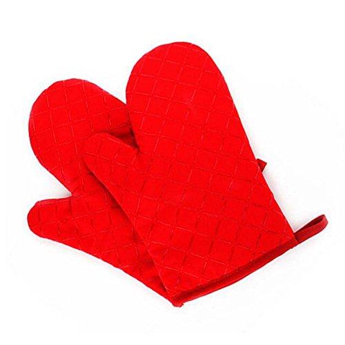 Ancdream Kookserie Hittebestendig/Isolatie Siliconen Handschoenen Pot Houder Oven Mitt voor BBQ/Oven/Bakkerij