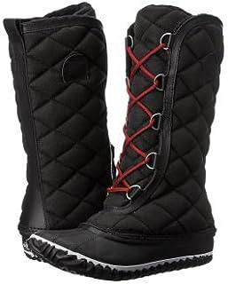 SOREL(ソレル) レディース 女性用 シューズ 靴 ブーツ スノーブーツ Out 'N About Tall - Black [並行輸入品]