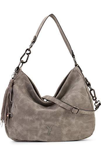 SURI FREY Beutel Romy 11587 Damen Handtaschen Uni darkgrey 840 One Size