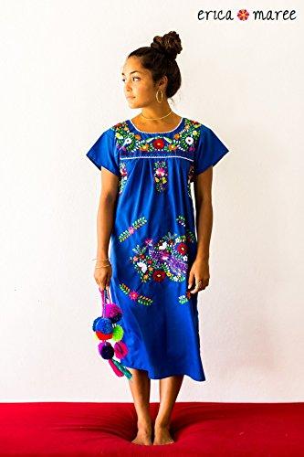 Slip Over Women's Embroidered Dress SIZE MEDIUM