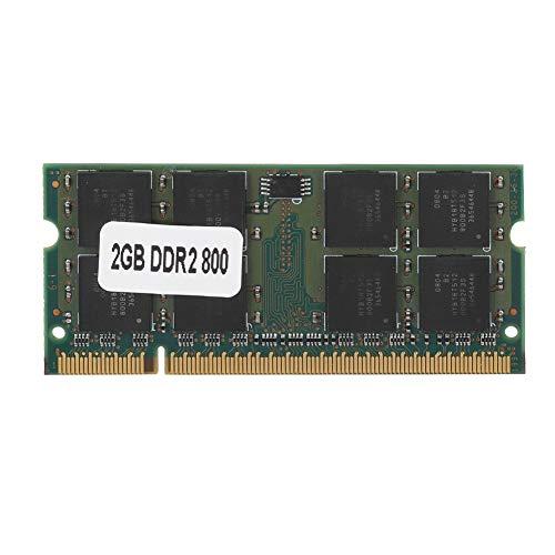 Memoria para computadora portátil DDR2 800MHz PC2-6400 Kit de Gran Capacidad DDR2 2GB Placa de módulo de Circuito de Memoria para computadora portátil 1.8V PC2-6400U Fácil de Transportar Ajuste