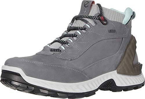 Ecco Damen EXOHIKEW Hohe Sneaker, Grau (Titanium/Concrete 54302), 39 EU