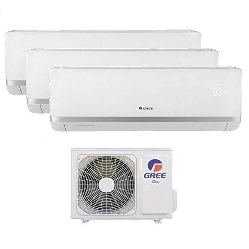Climatizzatore inverter trial split BORA 9000 + 9000 + 12000 Btu GREE R32 classe A++/A+