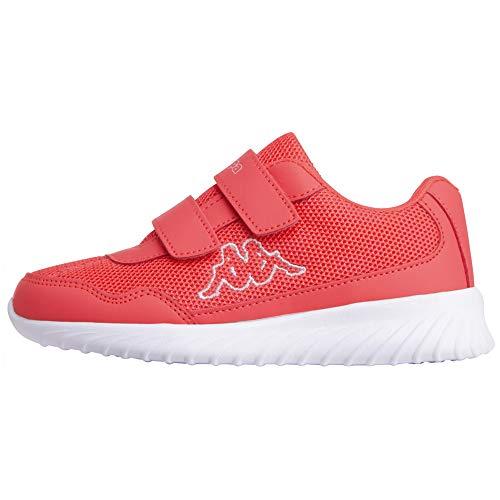 Kappa Jungen Cracker Ii Sneaker, 2810 Freaky Pink Whi, 34 EU
