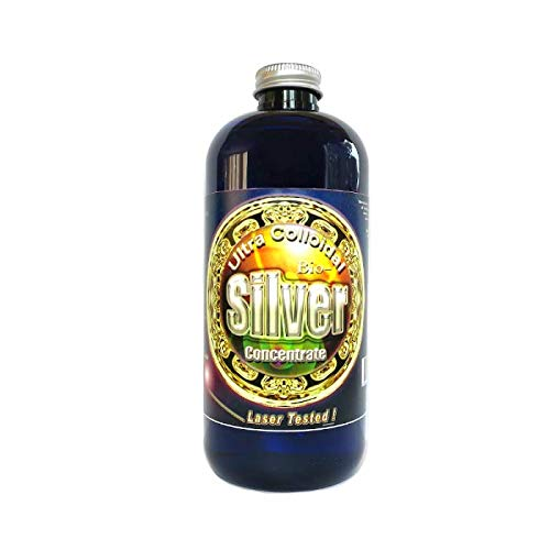 Liquid Silver 16 oz. 240 PPM , Silver MTN Minerals, (Medical Purity Silver Most Bioavailable colloidally Suspended Nano Particles)