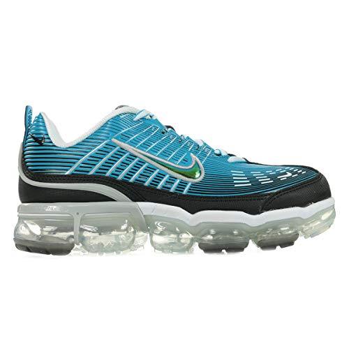 Nike Air Vapormax 360, Zapatillas para Correr para Hombre, Laser Blue Black White Lt Smoke Grey Reflect Silver, 42 EU