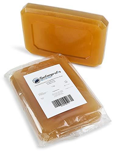 Seifenprofis - Honig - Glycerinseife Rohseife Seifenbasis(SLS/SLES-Frei) Honig-Transparent (1kg Honig)