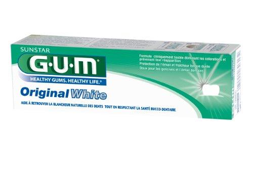 GUM Original White Zahncreme 75ml, 12er Vorteilspack (12x 75ml)