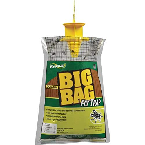 Rescue Big Bag Fly Trap (Pack of 10)