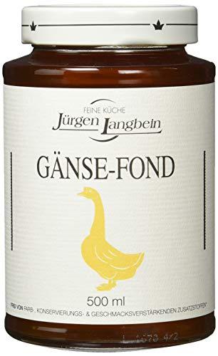 Jürgen Langbein Gänse-Fond, 6er Pack (6 x 500 ml)
