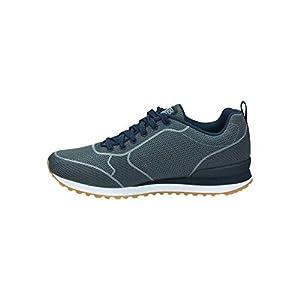 Skechers Men's OG 85 - Burris, Sneaker, Navy/Gray, 13 US M
