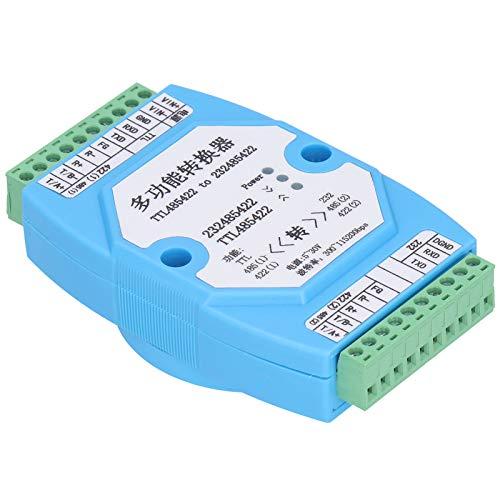 KUIDAMOS Convertidor Aislado 300 a 115200bps RS232 a 485 Repetidor Aislado Serie USB Repetidor convertidor Aislado 5‑30V para protección de Aislamiento Industrial